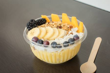 The Coconut Banana Bowl from Nectar in Green Bay, WI