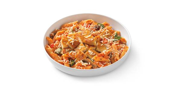Penne Rosa with Parmesan-Crusted Chicken from Noodles & Company - Fond du Lac in Fond du Lac, WI
