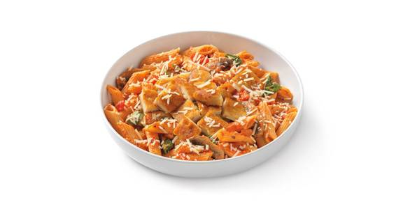 Penne Rosa with Parmesan-Crusted Chicken from Noodles & Company - Lawrence in Lawrence, KS