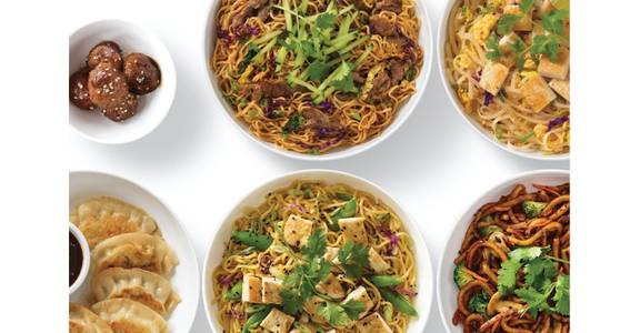 Asian Bowls from Noodles & Company - Madison Mineral Point Rd in Madison, WI