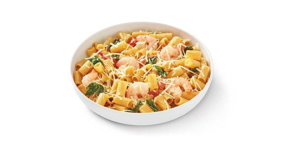 Cauliflower Rigatoni Fresca with Shrimp from Noodles & Company - Madison State Street in Madison, WI