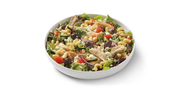 The Med Salad with Grilled Chicken from Noodles & Company - Madison State Street in Madison, WI