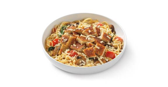 Alfredo MontAmore? with Parmesan-Crusted Chicken from Noodles & Company - Madison University Ave in Madison, WI