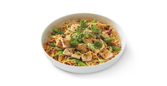 Grilled Orange Chicken Lo Mein from Noodles & Company - Manhattan in Manhattan, KS