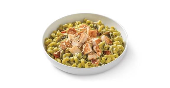 Pesto Cavatappi with Grilled Chicken from Noodles & Company - Manhattan in Manhattan, KS