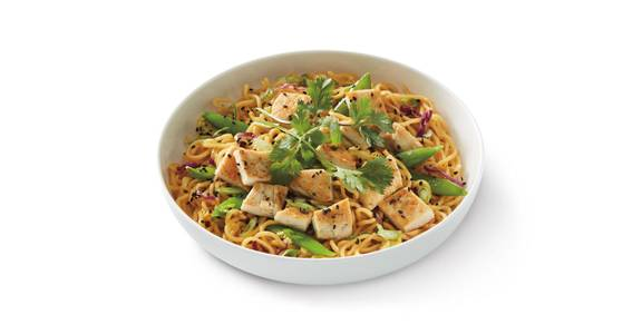 Grilled Orange Chicken Lo Mein from Noodles & Company - Milwaukee West Oklahoma Ave in Milwaukee, WI