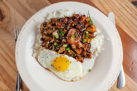 Teriyaki Chicken Rice Bowl from Northern Tap House - Eau Claire in Eau Claire, WI