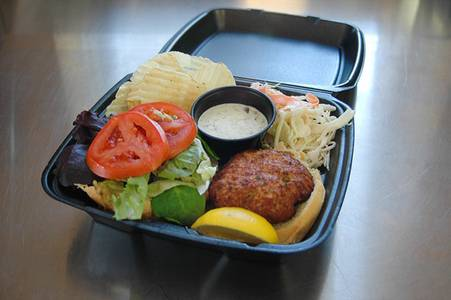 Crab Cake Sandwich (Thursday and Friday Only) from Nutter's Sandwich Shoppe in Newark, DE