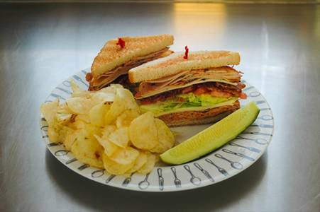 Santa Fe Turkey Club from Nutter's Sandwich Shoppe in Newark, DE