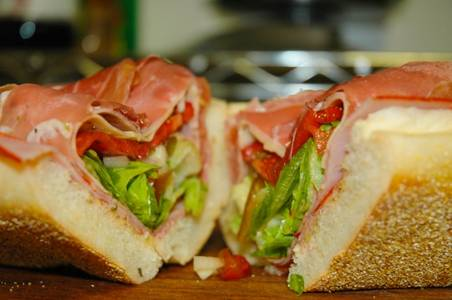 "The ""Real Deal"" Italian Sub from Nutter's Sandwich Shoppe in Newark, DE"