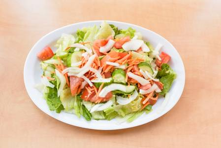 #1. House Salad from Oasis Mediterranean Grill in Ann Arbor, MI