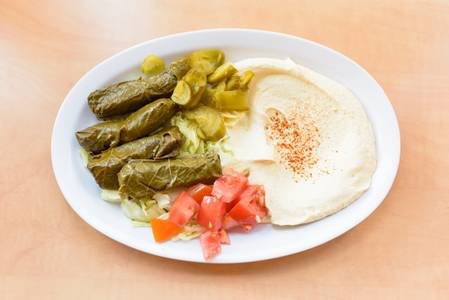 #13. Vegetarian Grape Leaves from Oasis Mediterranean Grill in Ann Arbor, MI