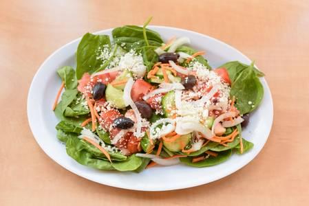#2. Greek Goddess Salad from Oasis Mediterranean Grill in Ann Arbor, MI