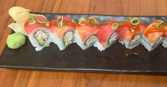 107. Kamikaze Roll (8 Pcs) from Oishi Sushi & Grill in Walnut Creek, CA