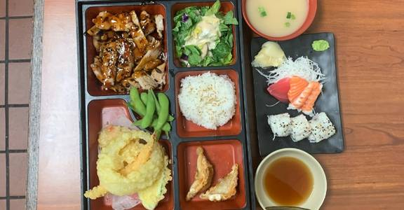 11. Deluxe Bento A from Oishi Sushi & Grill in Walnut Creek, CA