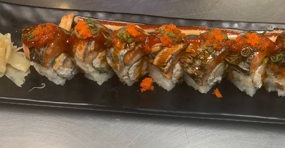 112A. Oishi Spicy Roll (8 Pcs) from Oishi Sushi & Grill in Walnut Creek, CA