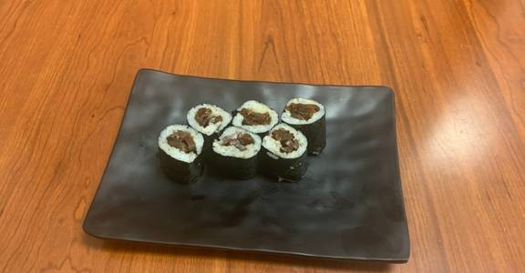 117. Shitake Maki Roll (6 Pcs) from Oishi Sushi & Grill in Walnut Creek, CA