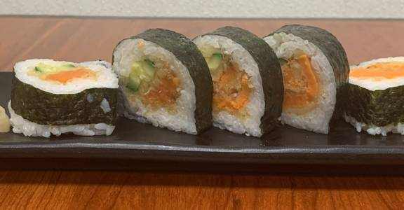 118. Veggie Tempura Roll (5 Pcs) from Oishi Sushi & Grill in Walnut Creek, CA