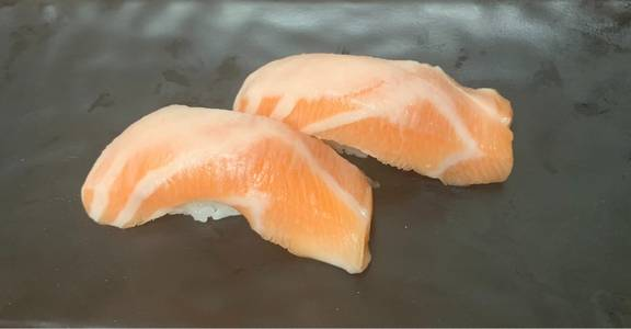 133. Sake Nigiri Sushi (2 Pcs) from Oishi Sushi & Grill in Walnut Creek, CA