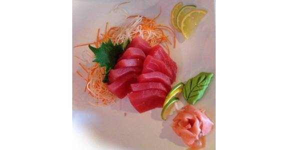 147. Tuna Sashimi (10 Pcs) from Oishi Sushi & Grill in Walnut Creek, CA