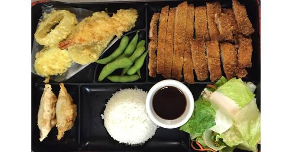 3. Lunch Bento C from Oishi Sushi & Grill in Walnut Creek, CA