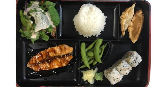 5. Lunch Bento E from Oishi Sushi & Grill in Walnut Creek, CA