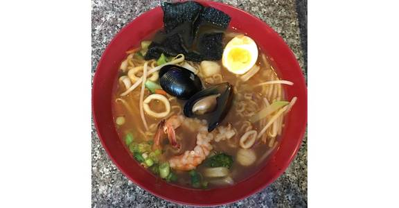 53. Seafood Ramen from Oishi Sushi & Grill in Walnut Creek, CA