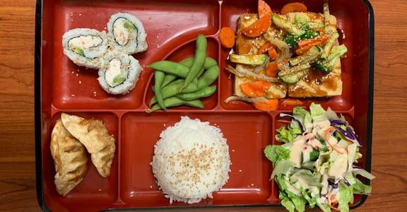 6. Lunch Bento F from Oishi Sushi & Grill in Walnut Creek, CA