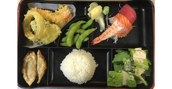 7. Lunch Bento G from Oishi Sushi & Grill in Walnut Creek, CA