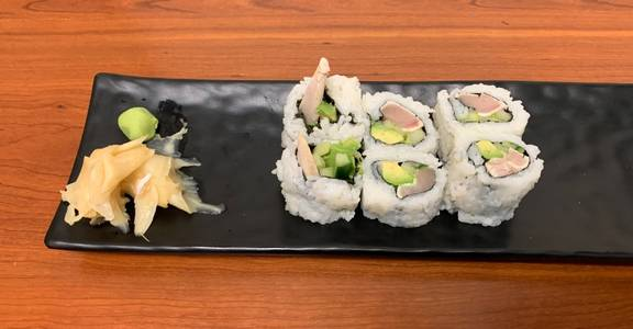 81. Albacore Roll (6 Pcs) from Oishi Sushi & Grill in Walnut Creek, CA