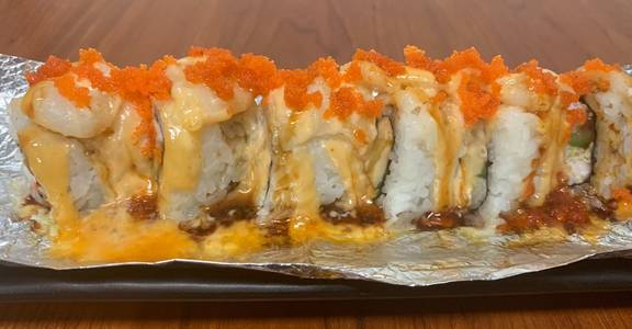 81. Baked Scallop Roll (8 Pcs) from Oishi Sushi & Grill in Walnut Creek, CA