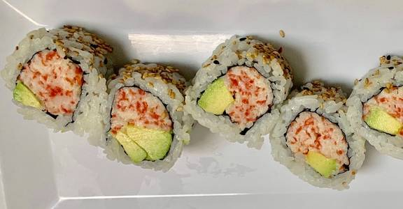 82. California Roll (6 Pcs) from Oishi Sushi & Grill in Walnut Creek, CA