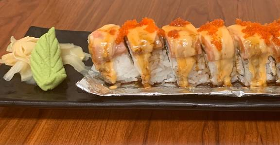 89. Lion King Roll (8 Pcs) from Oishi Sushi & Grill in Walnut Creek, CA