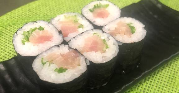 90. Negi Hama Roll (6 Pcs) from Oishi Sushi & Grill in Walnut Creek, CA