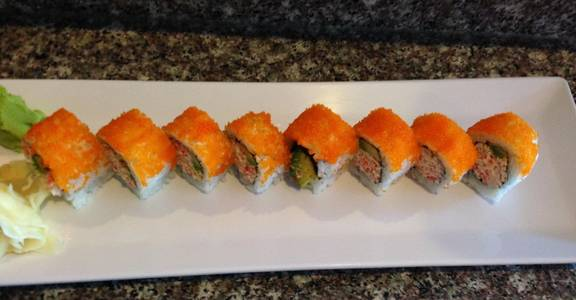 91. Orange California Roll (6 Pcs) from Oishi Sushi & Grill in Walnut Creek, CA