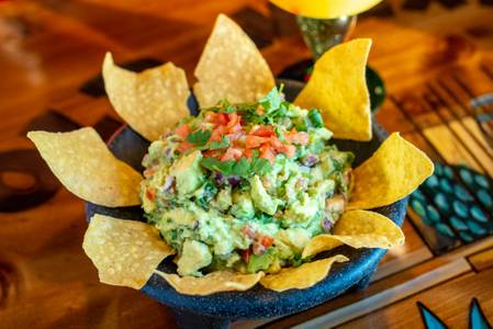 Fresh Guacamole from Old Mexico Restaurant in Green Bay, WI
