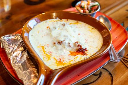 Queso Fundido from Old Mexico Restaurant in Green Bay, WI