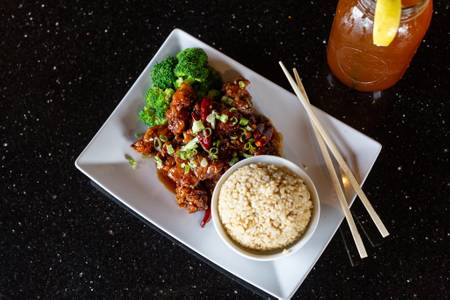 General Tso's Chicken Lunch Special from Oriental Bistro & Grill in Lawrence, KS