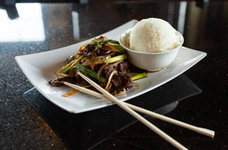 Stir Fried Bulgogi Beef from Oriental Bistro & Grill in Lawrence, KS