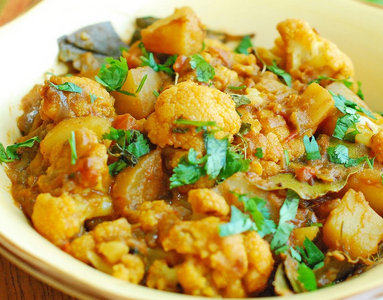 Aloo Gobi from Pariwaar Delights in Jersey City, NJ