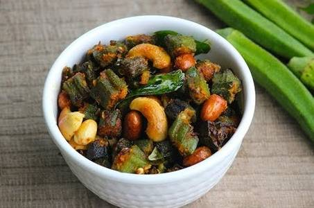 Bhindi Pepper Fry from Pariwaar Delights in Jersey City, NJ