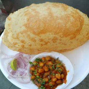 Chole Bhatura from Pariwaar Delights in Jersey City, NJ