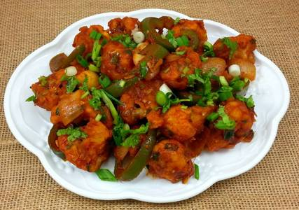 Gobi Manchurian from Pariwaar Delights in Jersey City, NJ