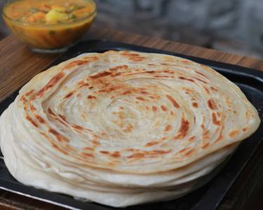 Kerala Paratha from Pariwaar Delights in Jersey City, NJ