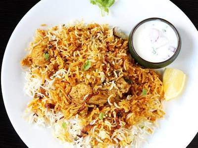 Pariwaar Special Chicken Dum Biryani from Pariwaar Delights in Jersey City, NJ
