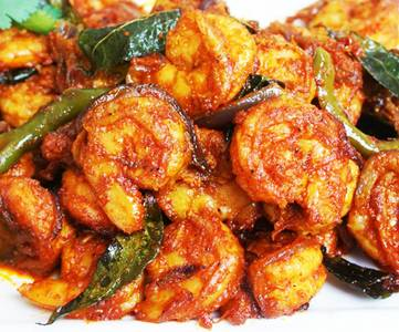 Shrimp Manchurian from Pariwaar Delights in Jersey City, NJ