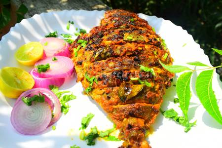 Tawa Fish from Pariwaar Delights in Jersey City, NJ