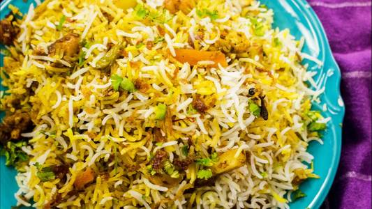 Vegetable Biryani from Pariwaar Delights in Jersey City, NJ