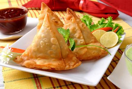 Vegetable Samosa from Pariwaar Delights in Jersey City, NJ