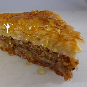 Baklava from Parthenon Gyros in Madison, WI